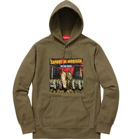 SUPREME/C.N.N The War Report (O.G) Hooded Sweatshirt