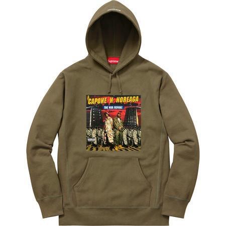 SUPREME/C.N.N The War Report (O.G) Hooded Sweatshirt