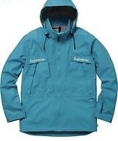 SUPREME Taped Seam Jacket Teal  Medium
