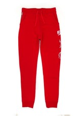 BBC DOUBLE ARCH JOGGER RED