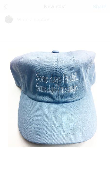 Some Days . . (P.B) Cap