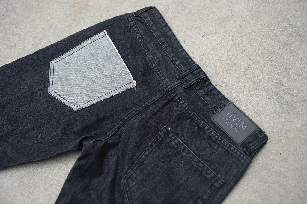 HVLM BACKSTAGE DENIM DISTRESSED BLACK