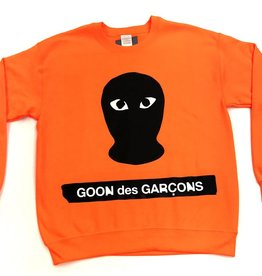 Goon des Garcons crewneck ( neon orange )