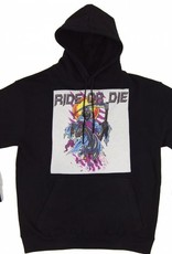 Ride R Die - Black Hoody