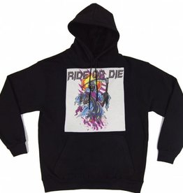 Ride R Die - Black Hoody