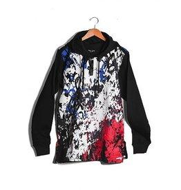 Alley Grunge Hoody Sweatshirt ( black )