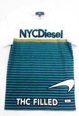 THC NYC Diesel Cut N Sew T-Shirt ( white )