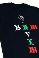 "HVLM HVLM "" BHM "" Black Fist T-Shirt ( black )"