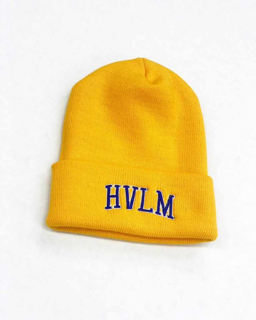 "HVLM HVLM "" Blue Chips "" Skullie ( yellow gold )"