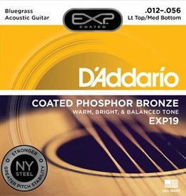 D'addario D'addario EXP19 PhBr Lt/Med