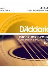 D'addario D'Addario EJ19 Blugrass 12-56