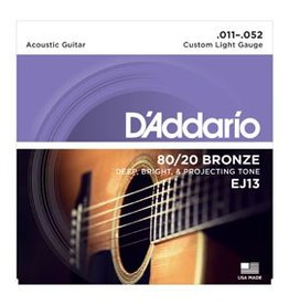 D'addario D'Addario EJ13 80/20 Cust. Light
