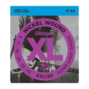 D'addario D'Addario EXL120 9/42