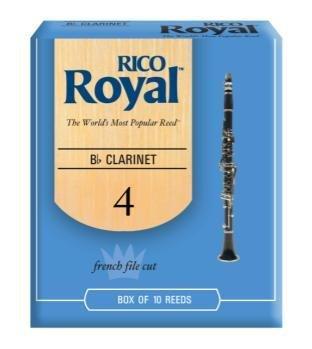 Rico Royal Bb Clarinet Reeds 4.0 Qty 10