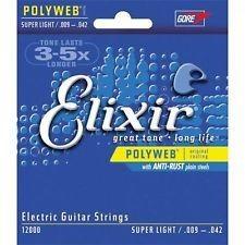 Elixir Elixir  Poly Super Lt .009-.042
