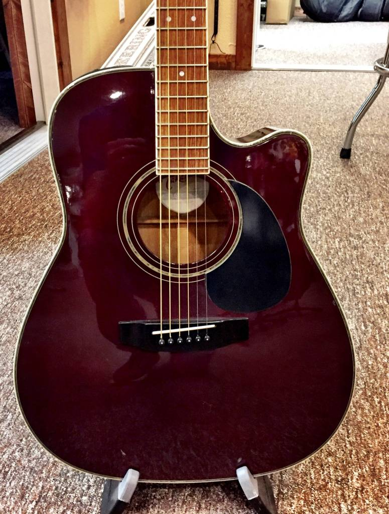 Takamine EG- 334RC Acoustic Elect Guitar