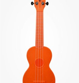 Kala Waterman Fluorescent Orange Ukulele