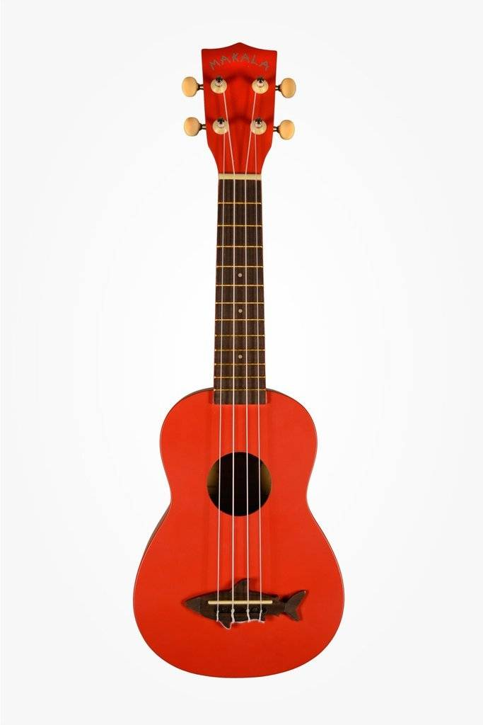 Kala Makala Red Sea Shark Soprano Uke