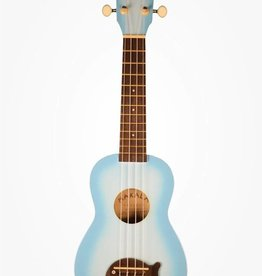 Kala Makala Light Blue Burst Soprano Dolphin