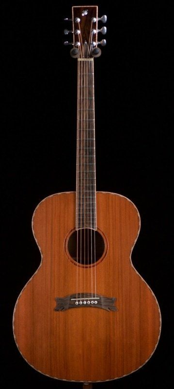 Jim Hewett Hewett Custom Grand Concert Guitar