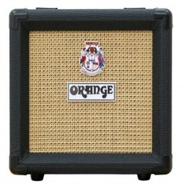 "Orange Orange 1x8"" Micro Cab Blk"