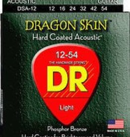 DR Strings DR Dragon Skin Acoustic 12-54 2 Pack