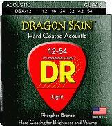 DR Strings DR Dragon Skin Acoustic 12-54 2 Pack