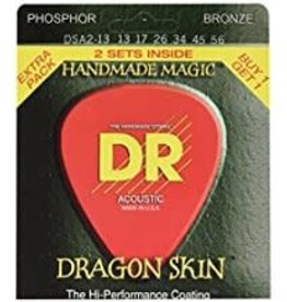 DR Strings DR Dragon Skin Acoustic 13-56 2pk