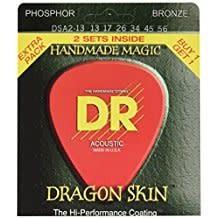 DR Strings DR Dragon Skin Acoustic 13-56 2pk