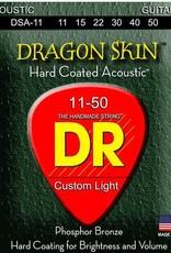 DR Strings DR Dragon Skin Acoustic 11-50 2pk