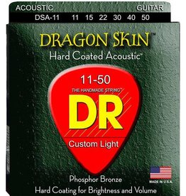 DR Strings DR Dragon Skin Acoustic 11-50 2 Pack