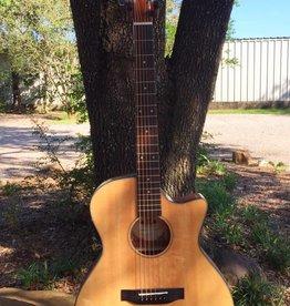 Kala Kala Thinline A/E Cutaway Guitar