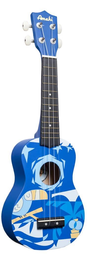 Amahi Blue Bird Ukulele
