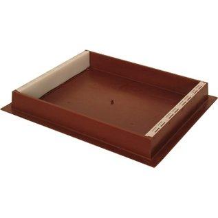 Brown Plastic Hive Top Feeder, 10-Frame