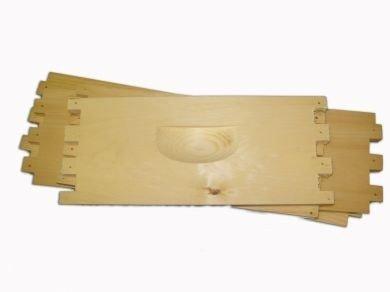 10-Frame Shallow Super, Unassembled