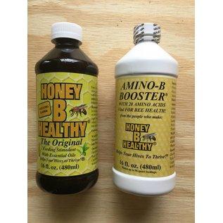 Honey-B-Healthy & Amino B Combo Deal, 16 oz.
