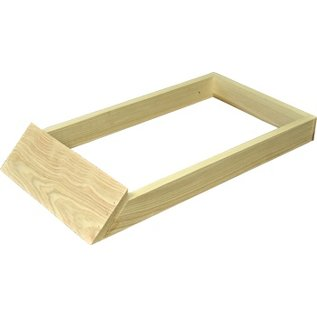 8-Frame Cypress Hive Stand/Landing Board, Assembled