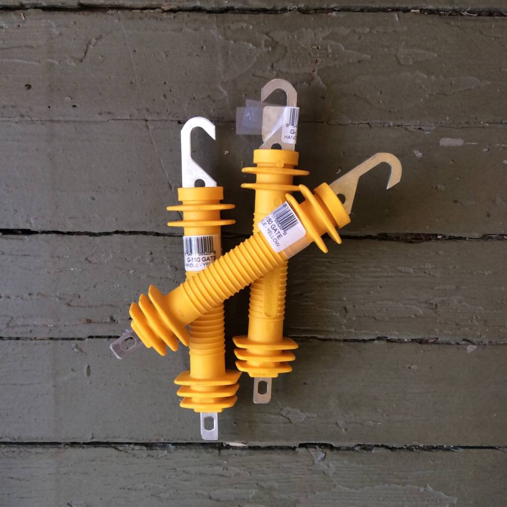Plastic Gate Handle for Electric Fencing