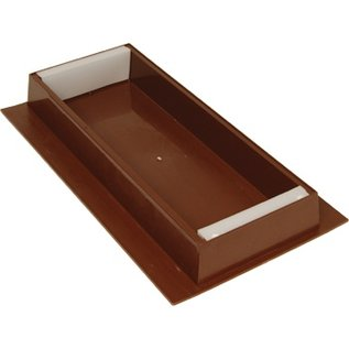 Brown Plastic Nuc Top Feeder