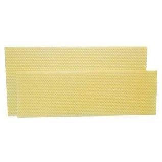 "4-3/4"" Shallow Plastic Ritecell Foundation, Yellow (box of 100)"