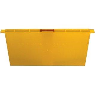 Division Board Feeder, Yellow Plastic