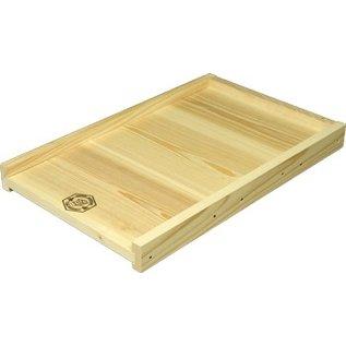 Solid Cypress Bottom Board, 10-Frame, Assembled
