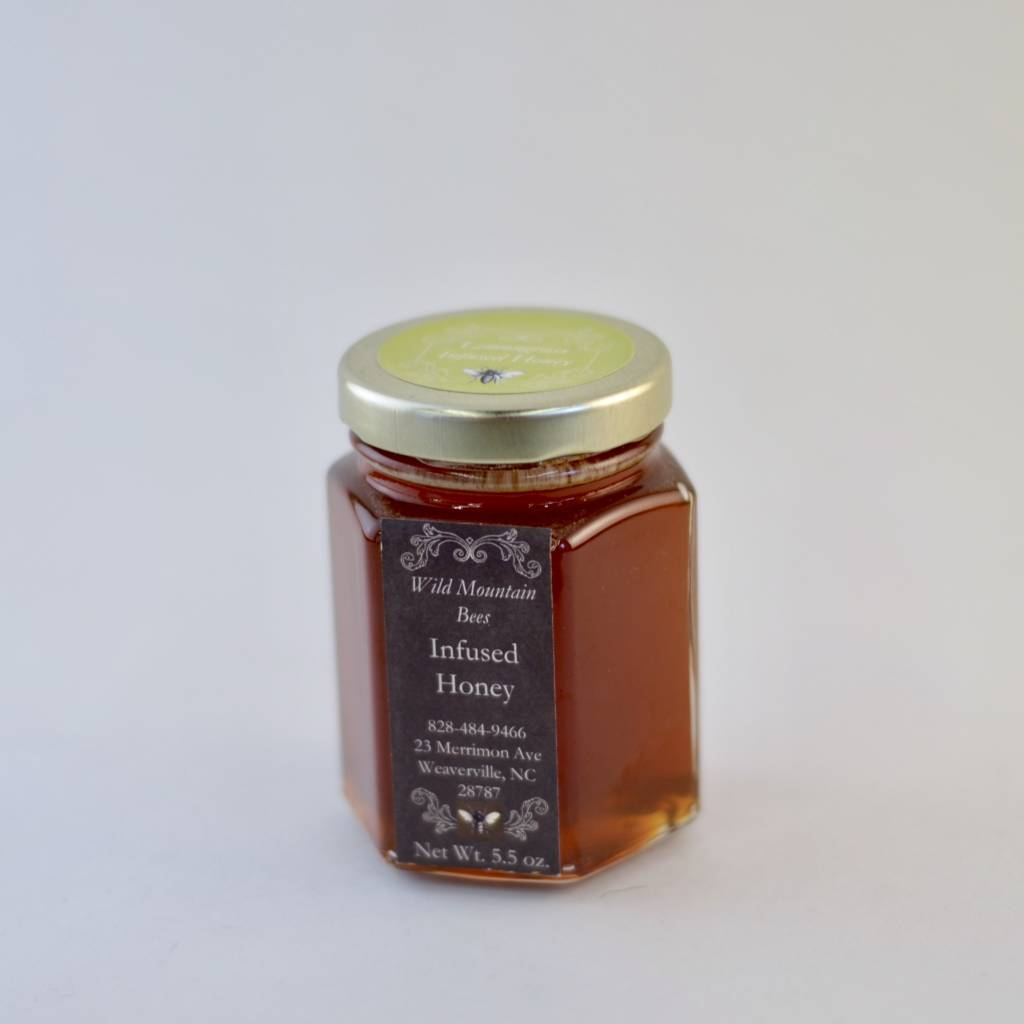 Lemongrass Infused Honey