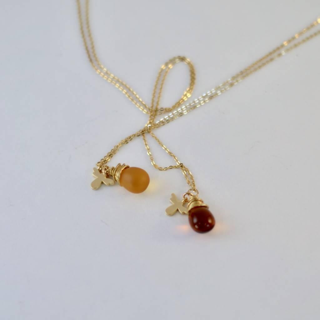 Small Honey Drop Necklace