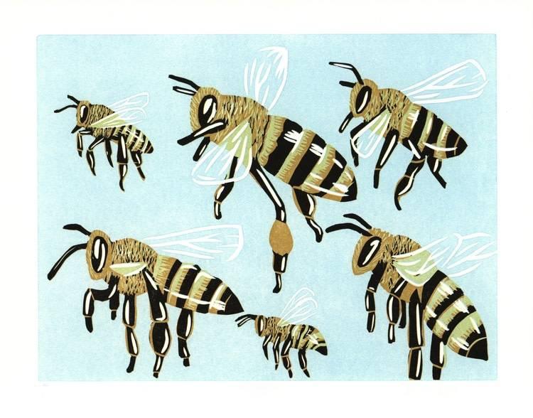 Honeybees Card