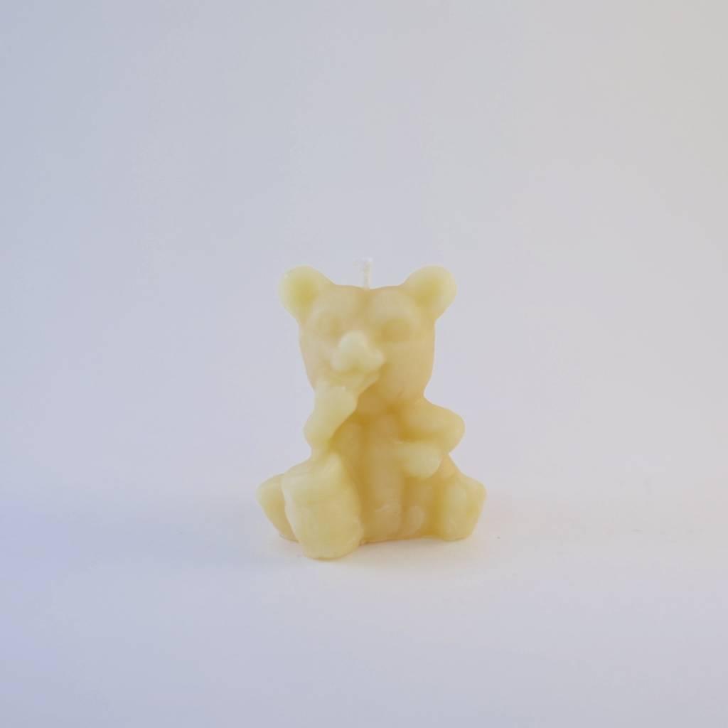 South Face Honey Bear Eating Honey Candle
