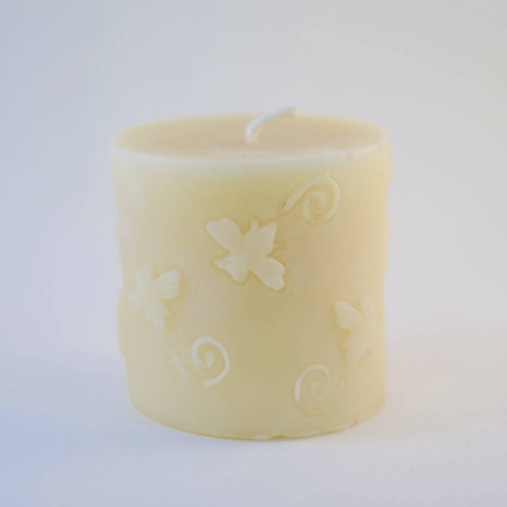 Beelite Pillar Candle with Bees
