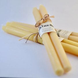 South Face Honey Beeswax Taper Candles