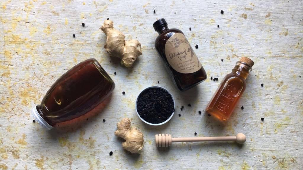 Winter-Hardy Elderberry Syrup Recipe