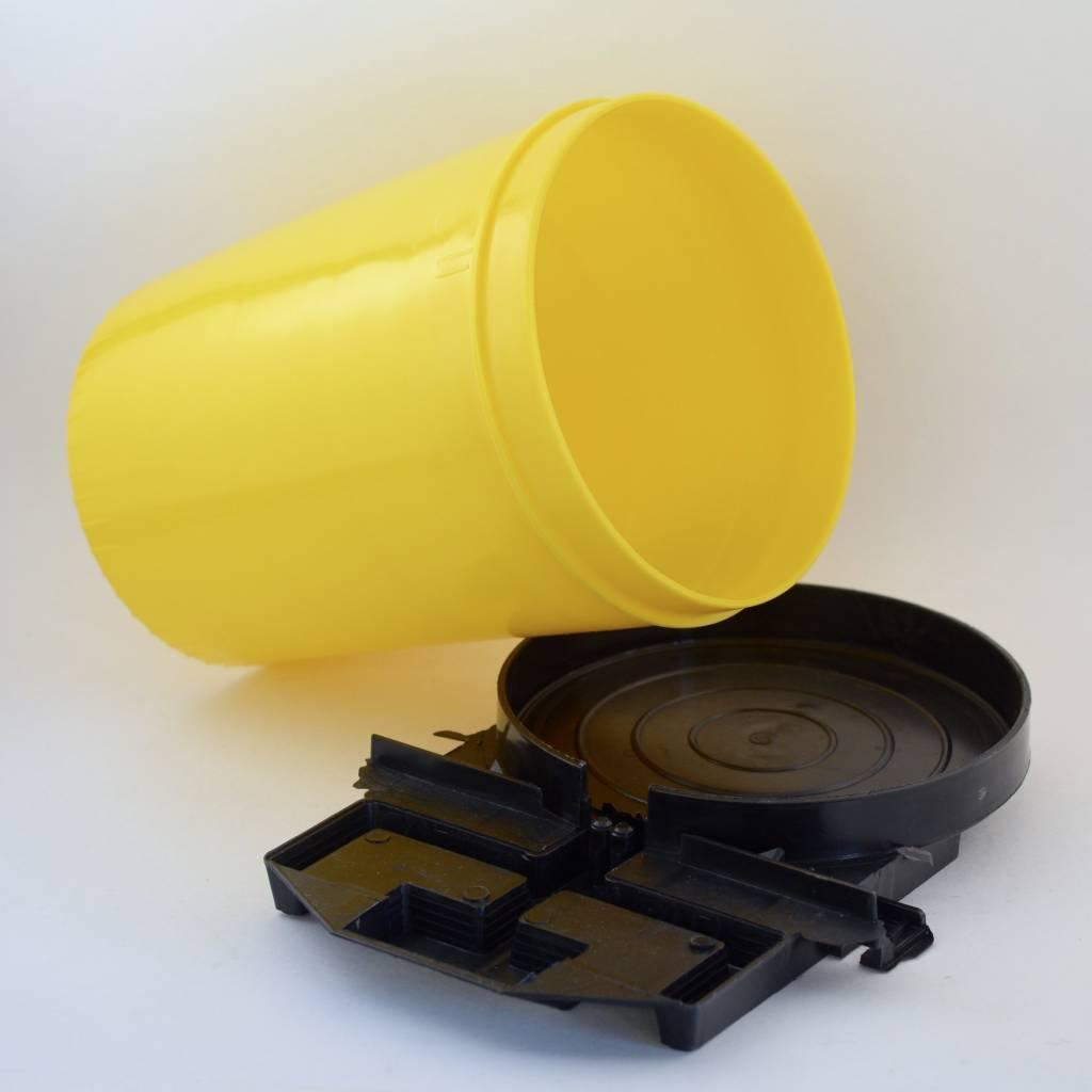 Yellow Plastic Entrance Feeder